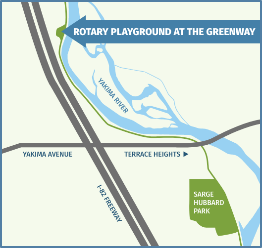 Map of new Rotary Park location